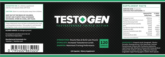 Mistä ostaa Testogen - Testosteroni Booster maasi Testogen Review - Legal Steroidit Alternative edistämiselle Testosteroni